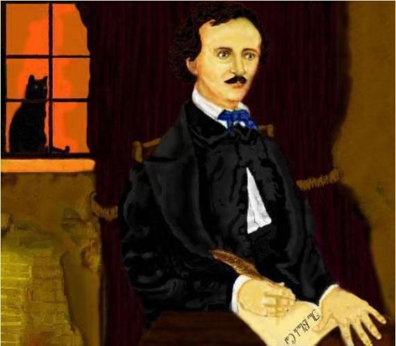 Edgar Allan Poe by ShadeOPale